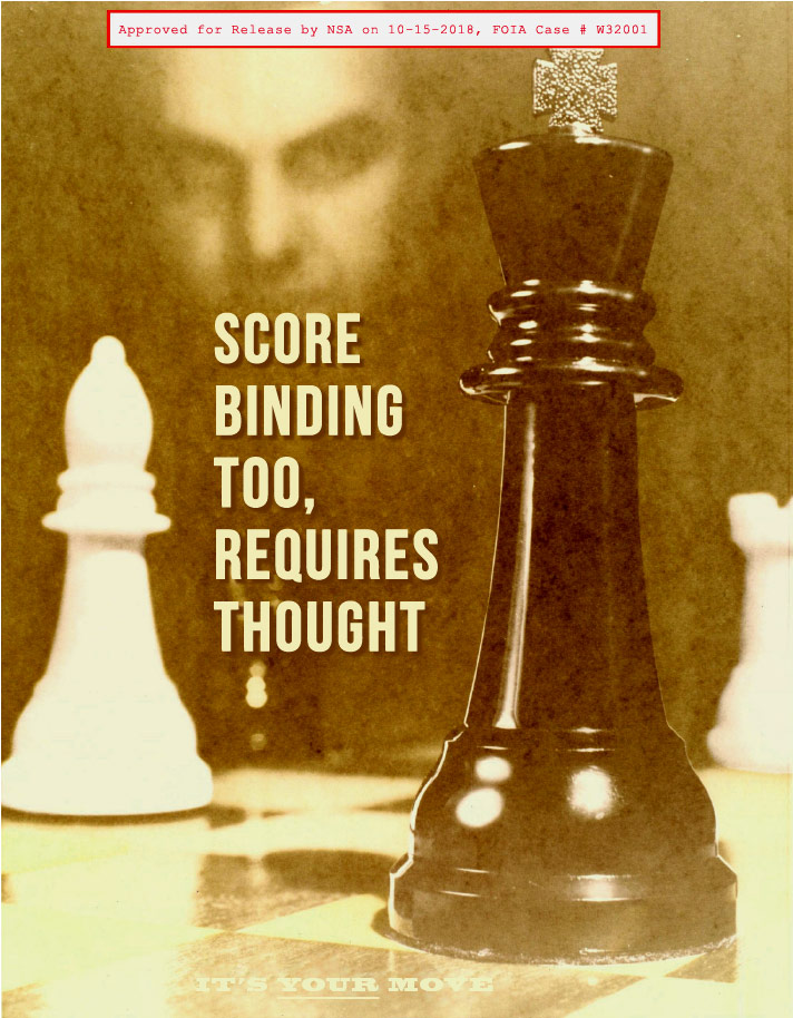 classical music is boring says, ''score binding too requires thought''